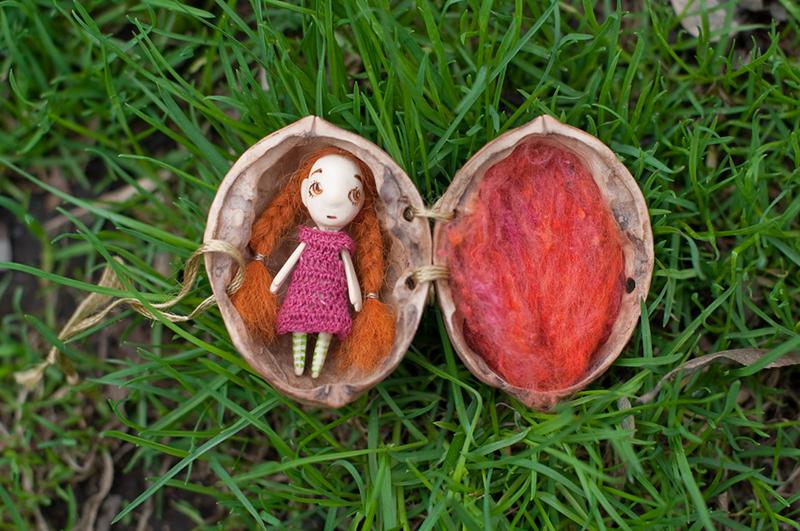 Миниатюрные куклы от Веры Дороховой