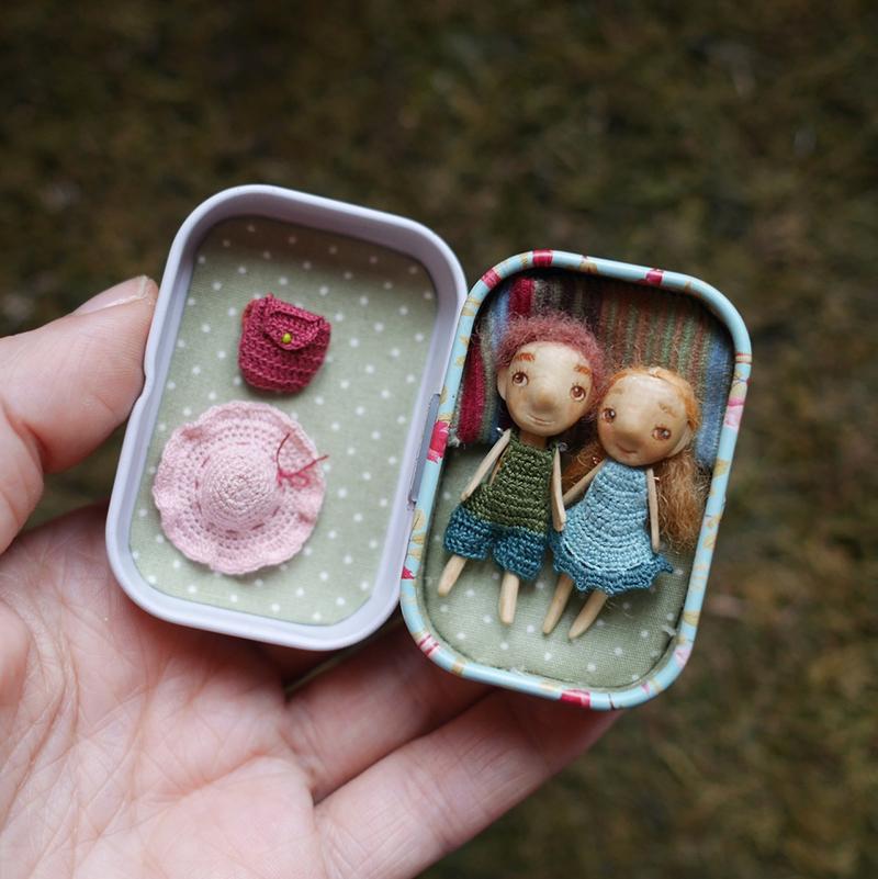 Миниатюрные куклы от Веры Тороховой