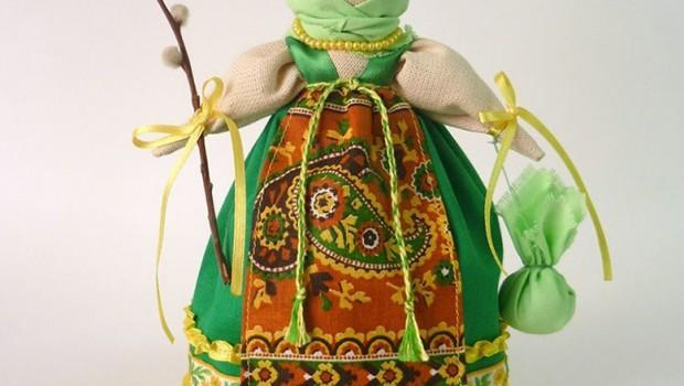 """Тряпичная кукла """"Вербница"""", автор Виктория Купцова (kuklandia), Ярмарка Мастеров"""