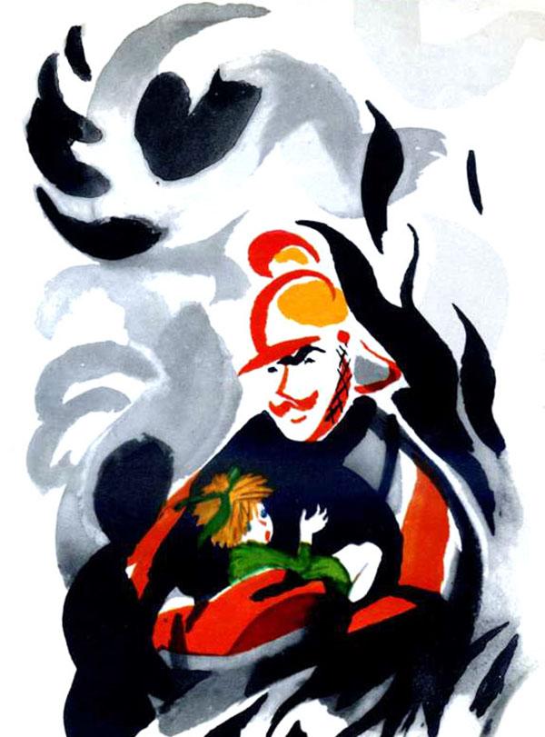 Иллюстрации Митурича к стихам С. Маршака. Издательство АСТ, 2015 год