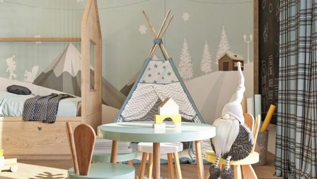 Эта детская комната для маленького мальчика разработана дизайнерами студии MolokoТатьяной Малафеевой и Анной Самариной. В ней всё, как в самой настоящей сказке. Похожие записи: Комната для маленького агента Сказочная керамика...
