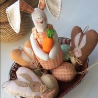 В преддверии Светлого праздника Пасхи мы хотим поделиться с вами замечательными идеями пасхального декора от Manchyk toys. Мы надеемся, что эти замечательные рукотворные работы послужат вдохновением для украшения праздничного стола...