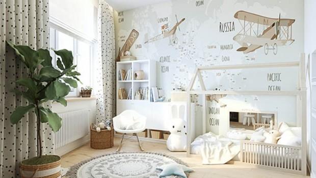 Эта детская комната по системе Монтессори – яркий проект, продуманный дизайнером Ольгой Рудаковой до мелочей.В нем сочетаются оригинальное декоративное оформление и конструктивные решения, которые помогли превратить небольшую комнату - 11,9...